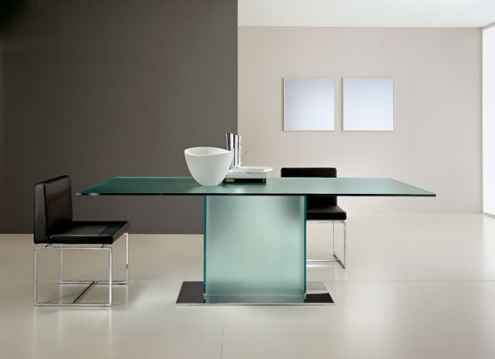 glass top dining table with original base design11