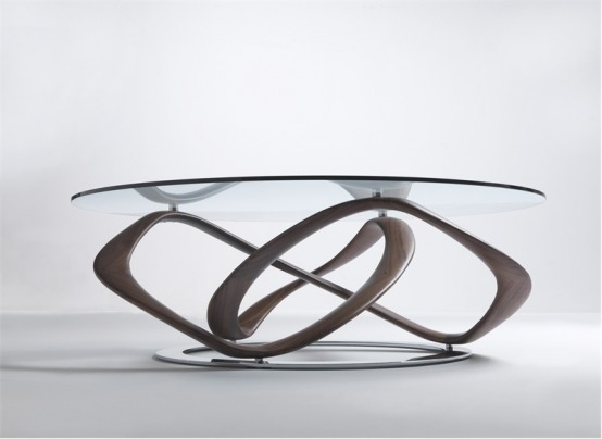 glass top dining table with original base design9