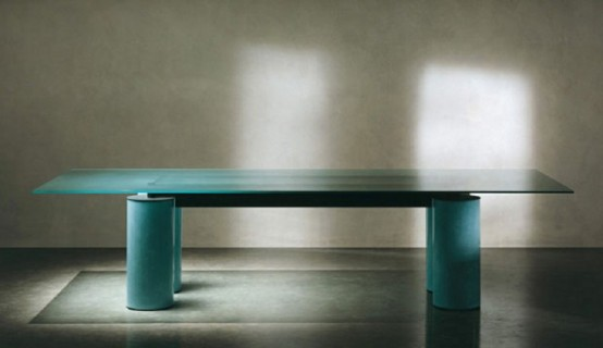 glass top dining table with original base design6