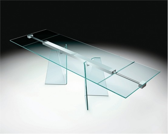 glass top dining table with original base design1