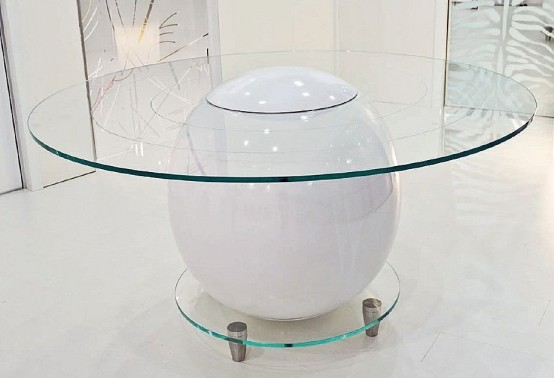 glass top dining table with original base design16