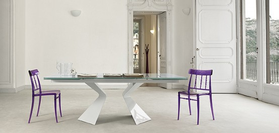 glass top dining table with original base design15