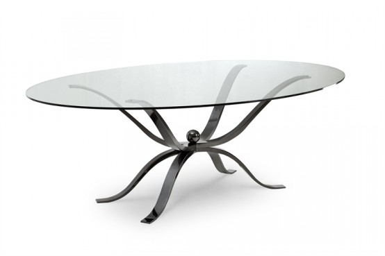 glass top dining table with original base design14