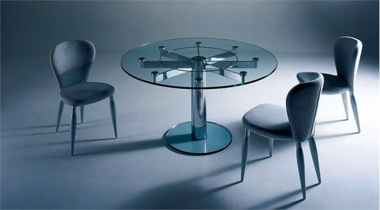 glass top dining table with original base design12