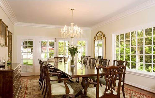 hillary duff house dinning room