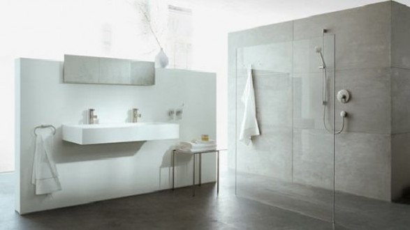 luxury Clean bathroom axor