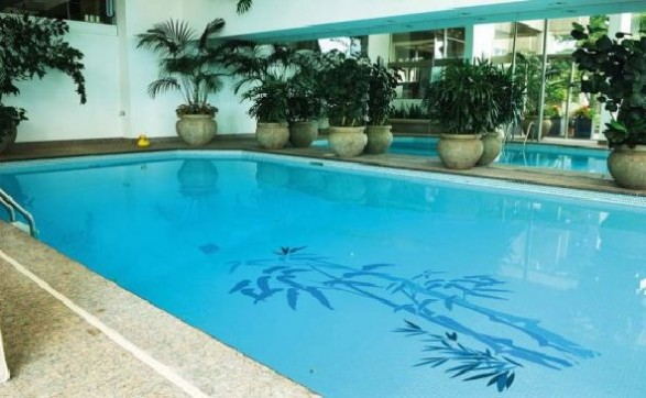 swimming pool decorations stickers