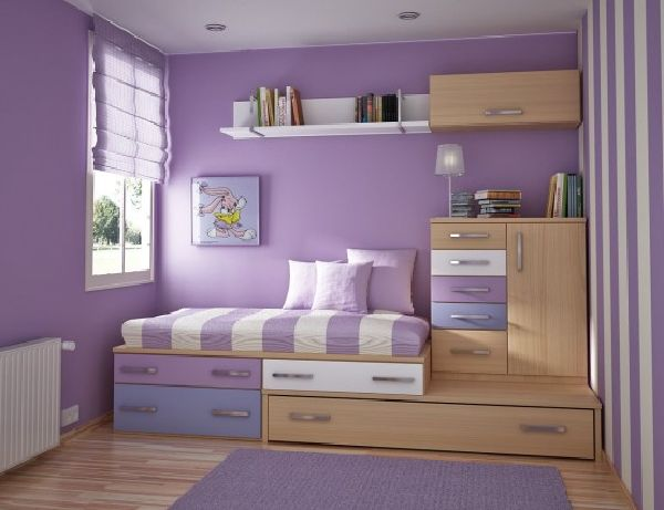 beautiful purple teen room