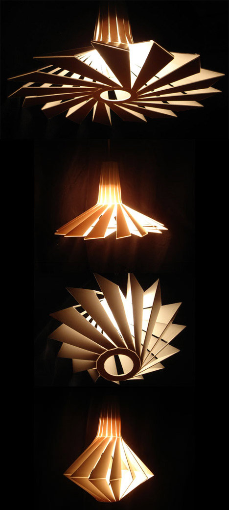 unique penta lamp