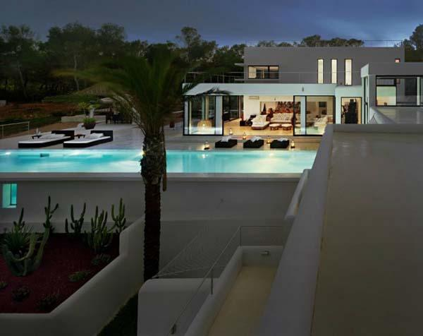 Beautiful View in Ibiza residence-swimming pool