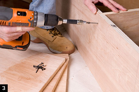 Build a Bookcase step3, How to Build a Bookcase: Step-by-Step Woodworking Plans