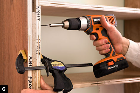 Build a Bookcase step6, How to Build a Bookcase: Step-by-Step Woodworking Plans