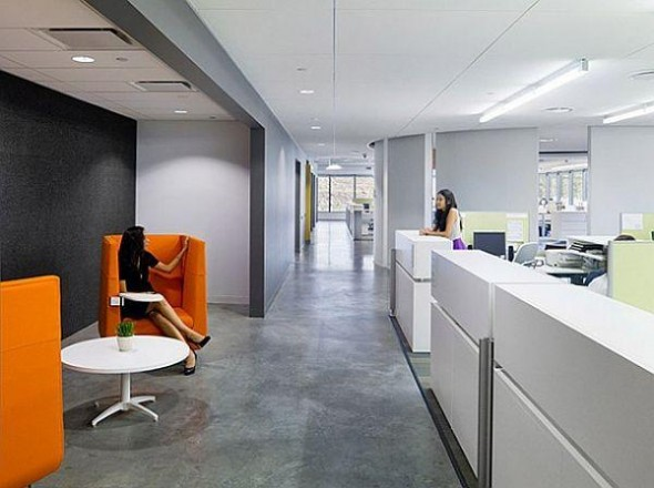 Interior design of belkin company in play vista california for Interior designs play