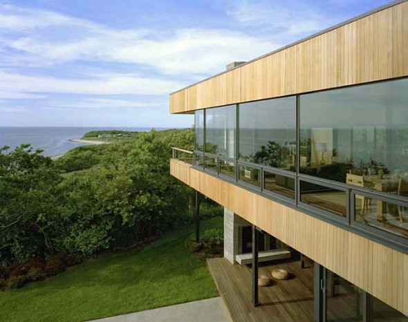 Glass Exterior Design Architectural Cutler Residence