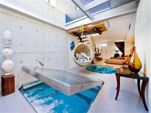 Amazing Indoor Swimming Pool and Spa Design