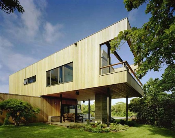 Innovative Home Vacation Architecrture Cutler Residence