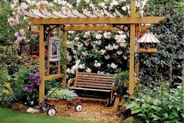 Pergolas and the Like for the Backyard