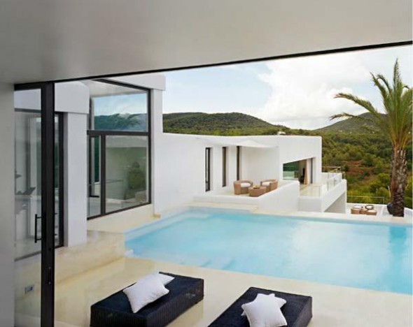 Relaxing Exterior of Ibiza Residence-swimming pool
