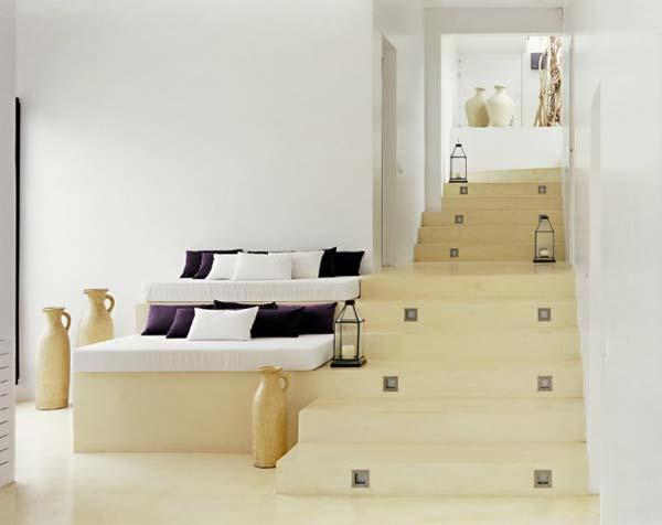 Marvelous Combination Of Modern And Mediterranean Design Of Perfect Ibiza Residence :  Simple Stage Of Casa Jondal Photos