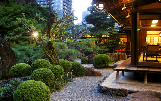 The Japanese style of gardening