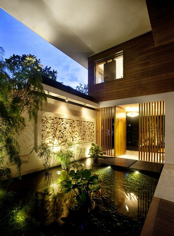 The Wonderfull Meera House Decorating Interior Garden Design Ideas