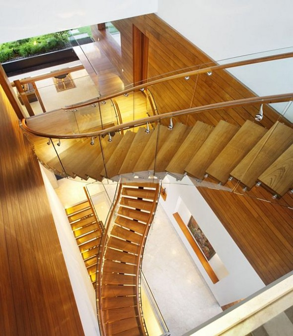 The Wonderfull Meera House Staircase Decorating Design Ideas