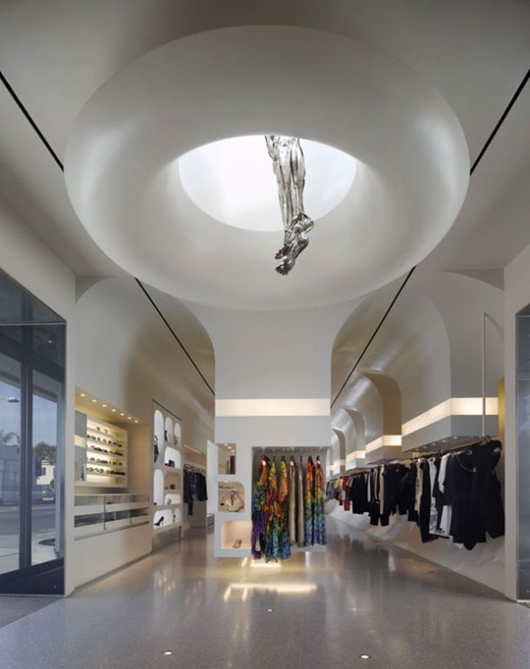 William Russell designed the new Alexander McQueen, William Russell has designed the new Alexander McQueen store in Los Angeles