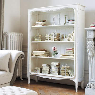 bookshelf-shelf with a reading nook