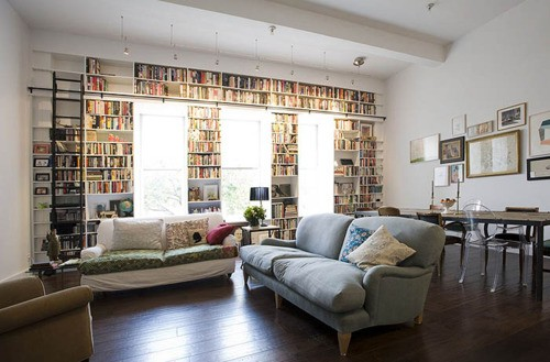 booktastic-shelf with a reading nook