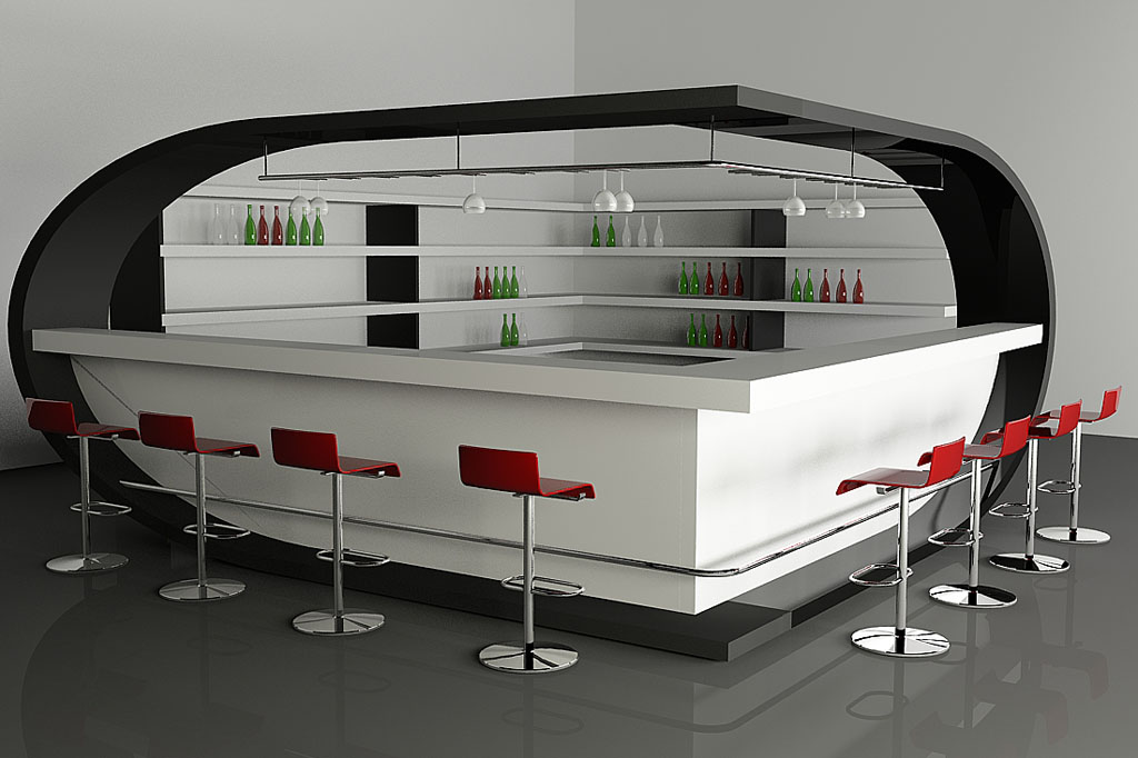 Chic Home Bar Design