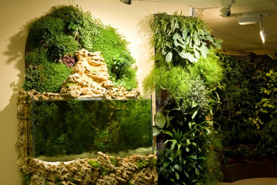 green house with best vertical gardens