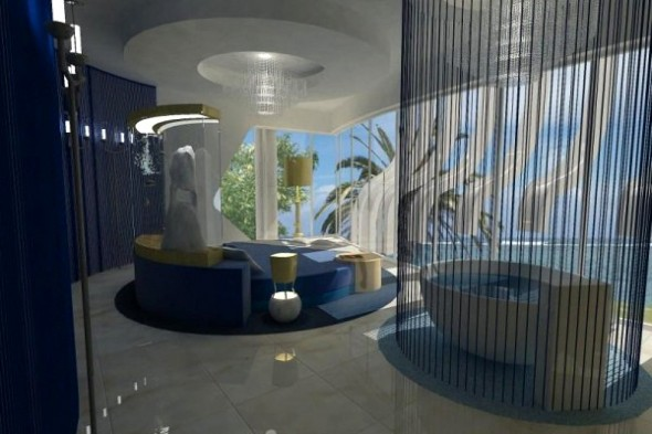 large swimming pool and jacuzzi in AURA