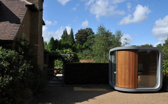 outdoor officePOD, Amazing Outdoor office POD