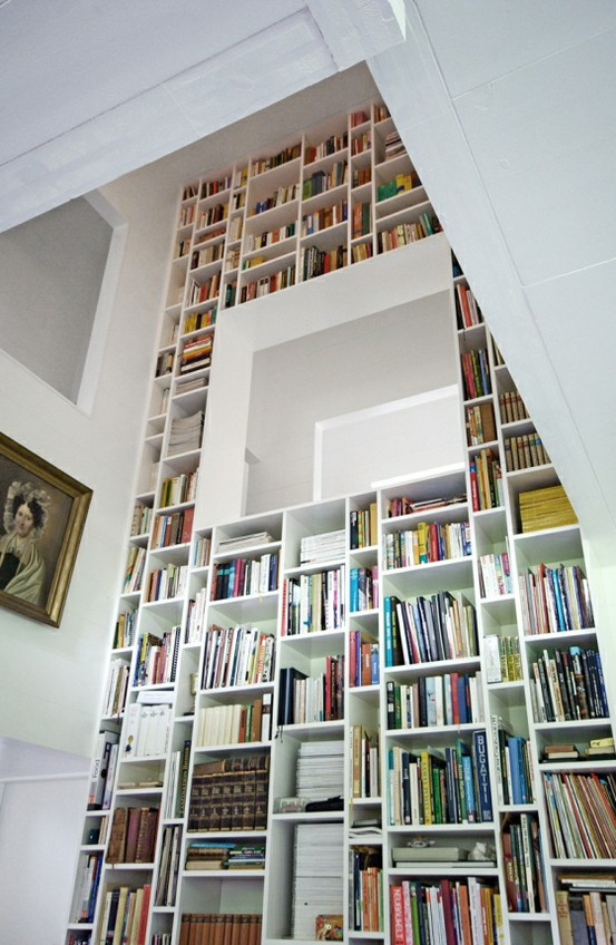 ridiculous, wonderful-shelf with a reading nook
