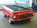 1965 ford mustang pooltable