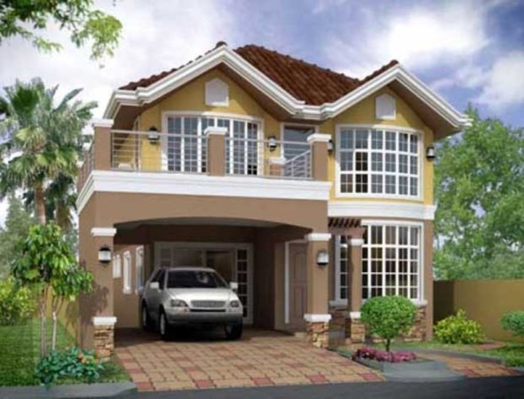 3D rendering house visualization