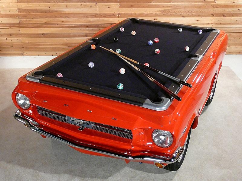 Beautiful 1965 ford mustang pool table