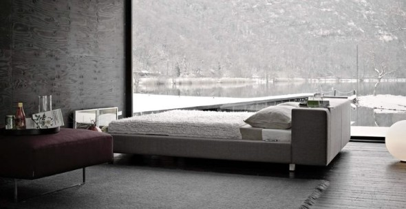 Chic Black White Bedroom Frighetto
