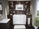 Classic Stylish and Elegant Small Bathroom