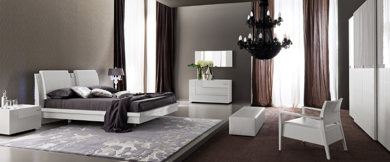 Contemporary Bedroom Design Rossetto Armobil