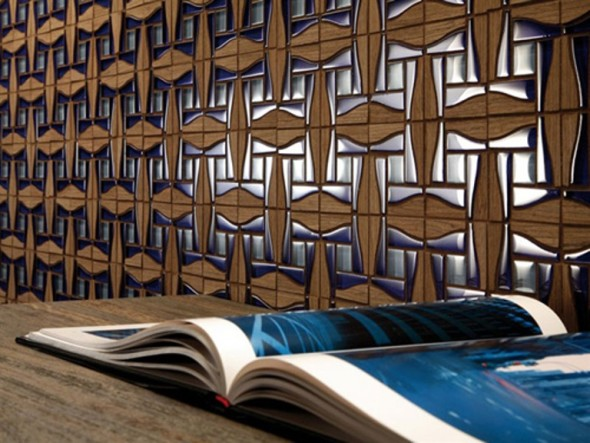 Decorative Wall Tiles In Solid Wood