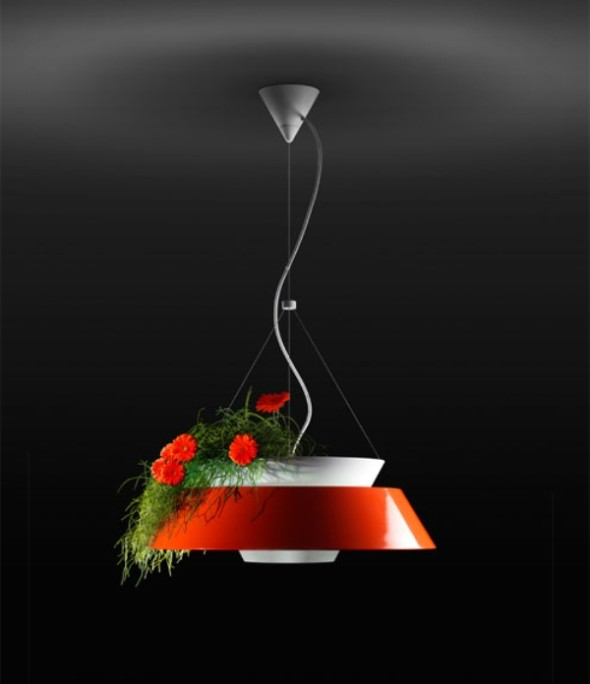 Flower Pot Lighting by Torremato