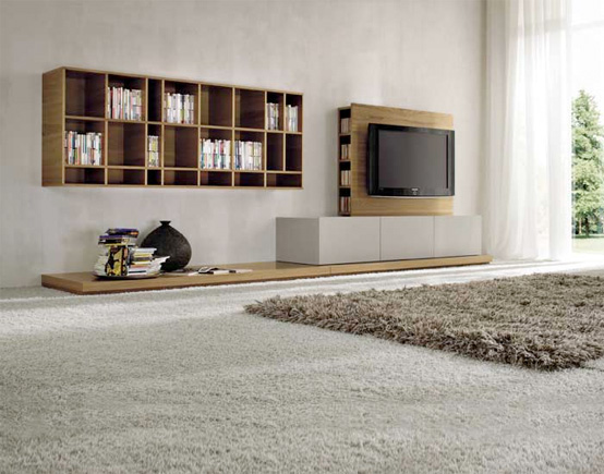 Furniture system by Dall Agnese