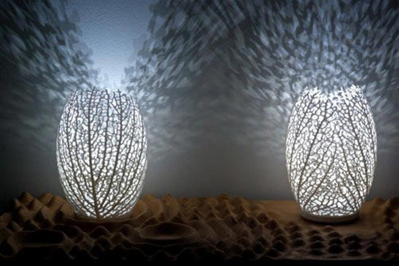 Hyphae Lamp by Nervous System