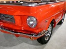 Lamp-1965 ford mustang pool table