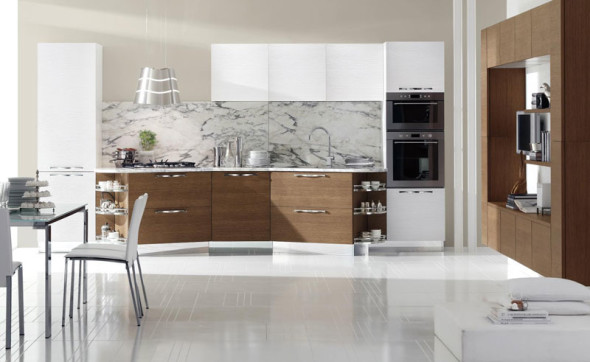 New Modern Kitchen Cabinets by Stosa