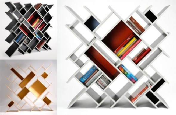 Quad Bookcase Best Bookshelf