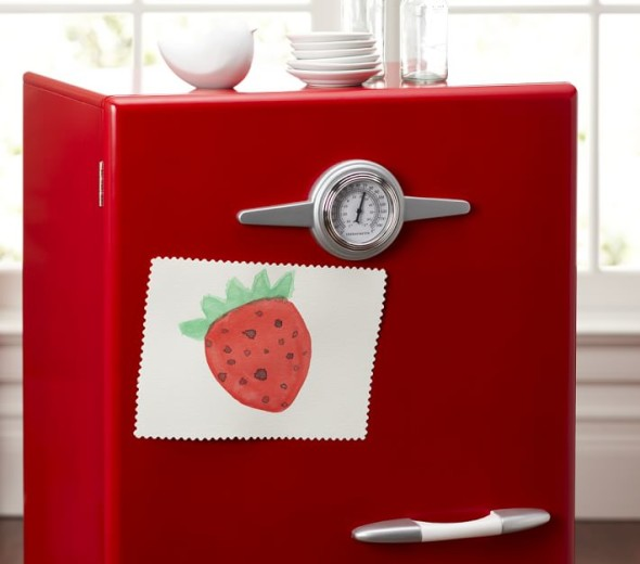 Red Retro Kitchen by Pottery Kids