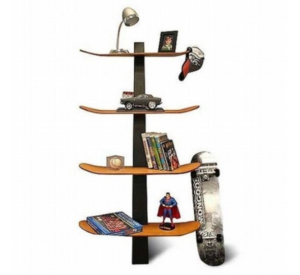 Skateboard Best Bookshelf