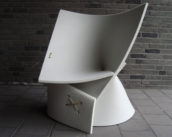 The FF1 Chair by Fox Freeze design